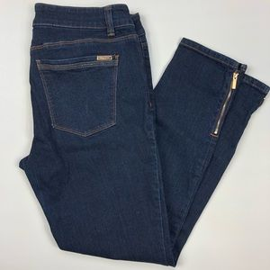 White House Black Market Skimmer Jeans 10 dark